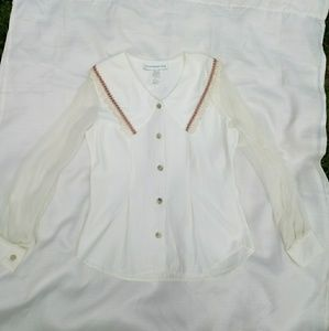 Vintage Paris Sport Club Blouse